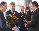 Starptautiskā lidosta «Rīga» sagaida 19.04.2017 pasažieri no Zviedrijas ar numuru 60 000 000 18