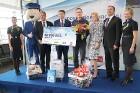 Starptautiskā lidosta «Rīga» sagaida 19.04.2017 pasažieri no Zviedrijas ar numuru 60 000 000 20