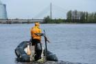Rīgas pašvaldības policija atrāda gatavību 2017.gada peldsezonai 11