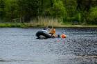 Rīgas pašvaldības policija atrāda gatavību 2017.gada peldsezonai 15