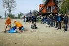 Rīgas pašvaldības policija atrāda gatavību 2017.gada peldsezonai 22