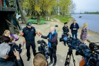 Rīgas pašvaldības policija atrāda gatavību 2017.gada peldsezonai 27