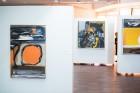 Liepājas koncertzālē «Lielais dzintars» atklāta latviešu gleznotājas Džemmas Skulmes personālizstāde «Krāsas garša» 5