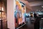 Liepājas koncertzālē «Lielais dzintars» atklāta latviešu gleznotājas Džemmas Skulmes personālizstāde «Krāsas garša» 8
