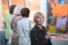 Liepājas koncertzālē «Lielais dzintars» atklāta latviešu gleznotājas Džemmas Skulmes personālizstāde «Krāsas garša» 11