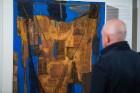 Liepājas koncertzālē «Lielais dzintars» atklāta latviešu gleznotājas Džemmas Skulmes personālizstāde «Krāsas garša» 14