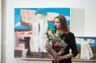 Liepājas koncertzālē «Lielais dzintars» atklāta latviešu gleznotājas Džemmas Skulmes personālizstāde «Krāsas garša» 17