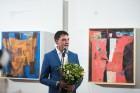 Liepājas koncertzālē «Lielais dzintars» atklāta latviešu gleznotājas Džemmas Skulmes personālizstāde «Krāsas garša» 19