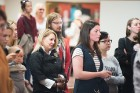 Liepājas koncertzālē «Lielais dzintars» atklāta latviešu gleznotājas Džemmas Skulmes personālizstāde «Krāsas garša» 22