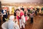Liepājas koncertzālē «Lielais dzintars» atklāta latviešu gleznotājas Džemmas Skulmes personālizstāde «Krāsas garša» 26