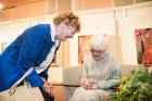 Liepājas koncertzālē «Lielais dzintars» atklāta latviešu gleznotājas Džemmas Skulmes personālizstāde «Krāsas garša» 30