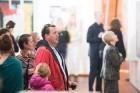 Liepājas koncertzālē «Lielais dzintars» atklāta latviešu gleznotājas Džemmas Skulmes personālizstāde «Krāsas garša» 31