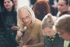 Liepājas koncertzālē «Lielais dzintars» atklāta latviešu gleznotājas Džemmas Skulmes personālizstāde «Krāsas garša» 32