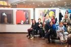 Liepājas koncertzālē «Lielais dzintars» atklāta latviešu gleznotājas Džemmas Skulmes personālizstāde «Krāsas garša» 39