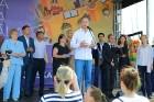 Ar ziepju burbuļu salūtu Rīgā atklāj Centra sporta kvartāla rotaļu laukumu 9
