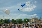 Ar ziepju burbuļu salūtu Rīgā atklāj Centra sporta kvartāla rotaļu laukumu 15