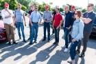 Konkursā «Latvijas Gada auto 2018» noritējis pirmais testa brauciens 5