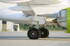 Lidosta «Rīga» un «Airbaltic» medijiem atrāda savu infrastruktūru un gaisa floti 9