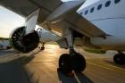 Lidosta «Rīga» un «Airbaltic» medijiem atrāda savu infrastruktūru un gaisa floti 23
