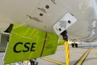 Lidosta «Rīga» un «Airbaltic» medijiem atrāda savu infrastruktūru un gaisa floti 26