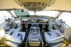 Lidosta «Rīga» un «Airbaltic» medijiem atrāda savu infrastruktūru un gaisa floti 43