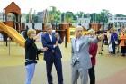 Rīgā aktīvi norisinās darbi, lai 16.septembrī atklātu Centra sporta kvartālu 4