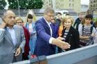 Rīgā aktīvi norisinās darbi, lai 16.septembrī atklātu Centra sporta kvartālu 7