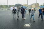 Rīgā aktīvi norisinās darbi, lai 16.septembrī atklātu Centra sporta kvartālu 26