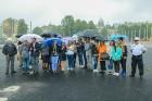 Rīgā aktīvi norisinās darbi, lai 16.septembrī atklātu Centra sporta kvartālu 28