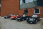 Pie Rīgas Motormuzeja aizvadīts gada pēdējais klasisko transportlīdzekļu pasākums «Youngtimer Cars&Coffee» 1