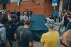 Pie Rīgas Motormuzeja aizvadīts gada pēdējais klasisko transportlīdzekļu pasākums «Youngtimer Cars&Coffee» 14