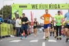 Rīgas centrā notiekošajā rudens skrējienā «We Run Riga» dalību ņem vairāk nekā 9000 skrējēju 11