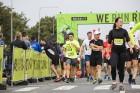 Rīgas centrā notiekošajā rudens skrējienā «We Run Riga» dalību ņem vairāk nekā 9000 skrējēju 15