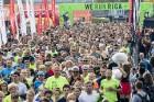 Rīgas centrā notiekošajā rudens skrējienā «We Run Riga» dalību ņem vairāk nekā 9000 skrējēju 16
