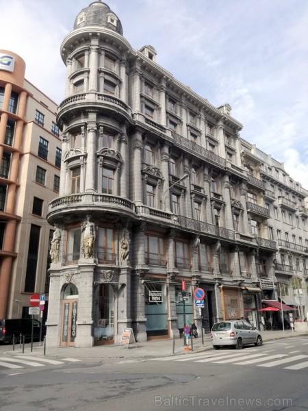 Briselē ir ļoti daudz skaistu ēku!