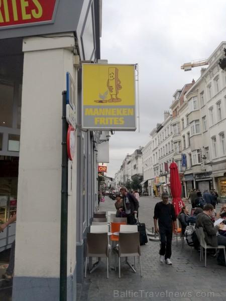 Protams, Briseles simbols tiek izmantots arī mārketingā... Es gan nezinu vai tādus frī kartupeļus vēlētos iegādāties. Pat ja frī ir Beļģijas simbols..