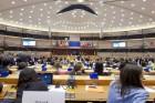 Protams, mūsu mērķis bija viesoties Eiropas Parlamentā, apmeklējot tūrisma konferenci - un tur arī pabijām. Eiropas parlaments ir MILZĪGS, vesels kvar 27