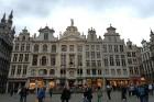 Brisele ir skaista - un centrālais tirgus laukums jeb