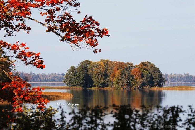 Alūksnē jau var izbaudīt Zelta rudeni. Foto: Jana Raga.