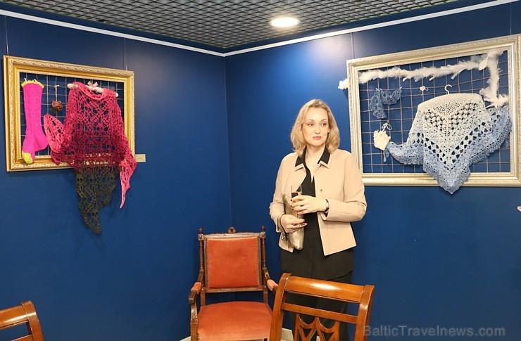 Pārdaugavas viesnīcā «Islande Hotel» mākslimiece Sandra Savicka atklāj personālizstādi
