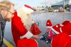 Ar somu lidsabiedsabiedrības «Finnair» lidmašīnu 5.12.2017 Rīgā ielido Ziemassvētku vecītis no Lapzemes 10