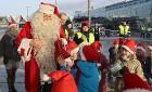 Ar somu lidsabiedsabiedrības «Finnair» lidmašīnu 5.12.2017 Rīgā ielido Ziemassvētku vecītis no Lapzemes 12