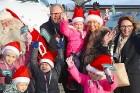Ar somu lidsabiedsabiedrības «Finnair» lidmašīnu 5.12.2017 Rīgā ielido Ziemassvētku vecītis no Lapzemes 14