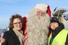 Ar somu lidsabiedsabiedrības «Finnair» lidmašīnu 5.12.2017 Rīgā ielido Ziemassvētku vecītis no Lapzemes 19