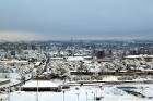 Ventspils «Lemberga hūtē» bauda sniegu, bet gaida salu, lai tas varētu noturēties 3
