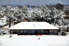Ventspils «Lemberga hūtē» bauda sniegu, bet gaida salu, lai tas varētu noturēties 4