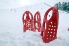 Ventspils «Lemberga hūtē» bauda sniegu, bet gaida salu, lai tas varētu noturēties 7