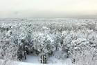 Ventspils «Lemberga hūtē» bauda sniegu, bet gaida salu, lai tas varētu noturēties 16
