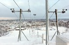 Ventspils «Lemberga hūtē» bauda sniegu, bet gaida salu, lai tas varētu noturēties 21