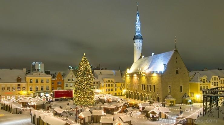 Skaistākie Igaunijas Ziemassvētku tirdziņi ar savu šarmu vilina arī latviešus